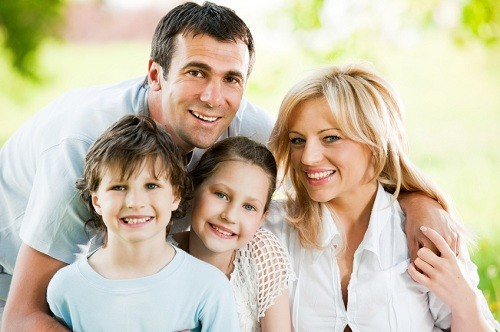 Happy Family at Timothy H. Kindt, DDS