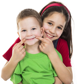 Children smiling with Sealants at Timothy H. Kindt, DDS